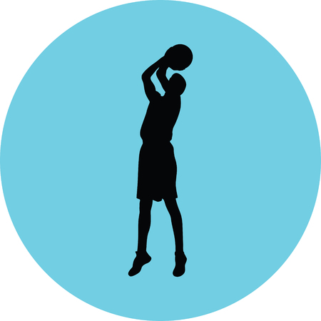 basketball player Stock Vector - 73974122