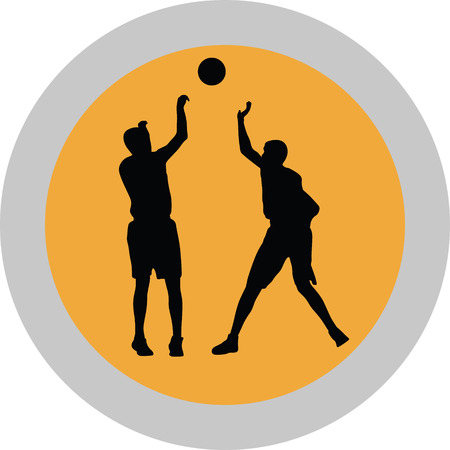 basketball player Stock Vector - 74566457
