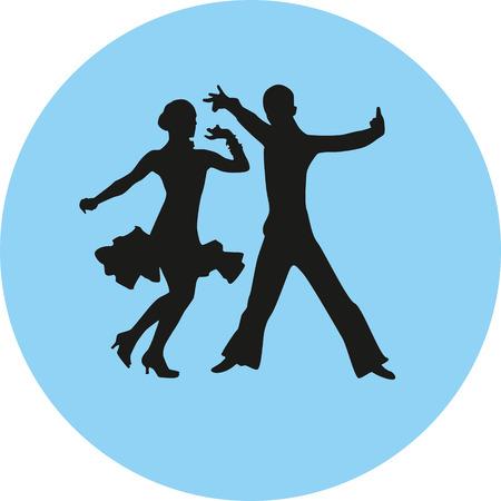 ballare persone Vettoriali