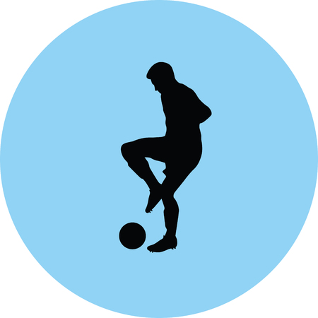 Soccer player icon.