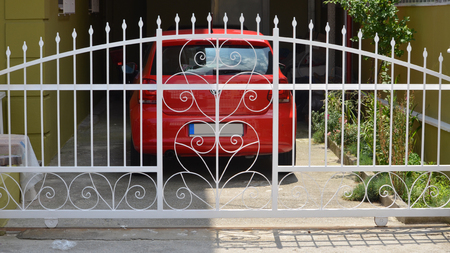 gate of garage