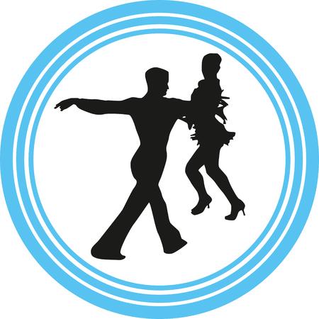 dance people Vektorgrafik