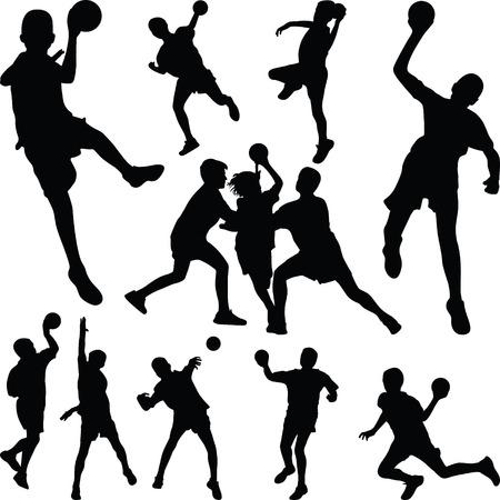 handball  イラスト・ベクター素材