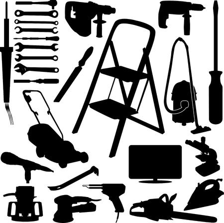 house tool 向量圖像