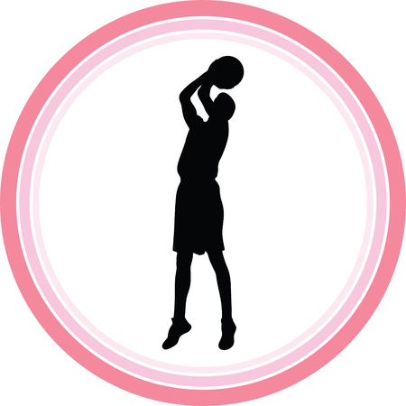 basketball player Stock Vector - 118445808