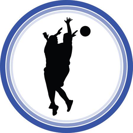 basketball player Stock Vector - 118450521