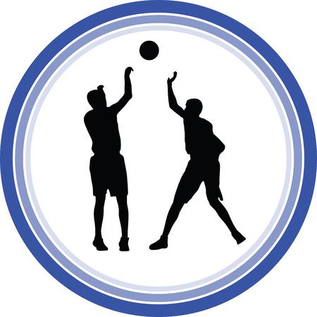 basketball player Stock Vector - 118450522