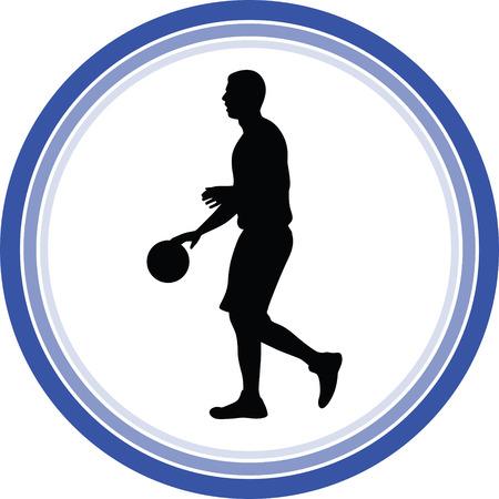basketball player Stock Vector - 118450529