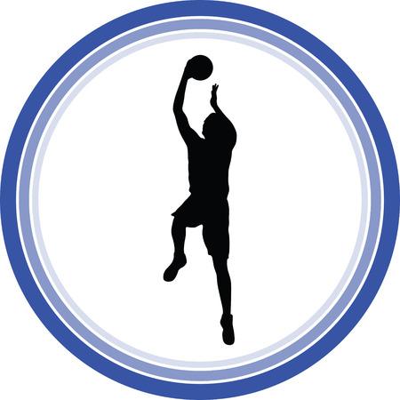 basketball player Stock Vector - 118450538