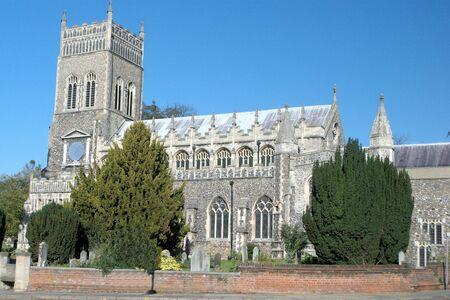 parish: Typical english parish church