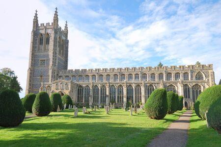 large parish church at long melford