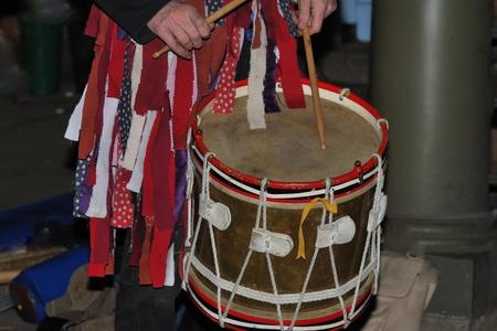 traditonal: Traditional morris dancing drum