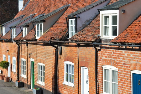 Row of cottages photo