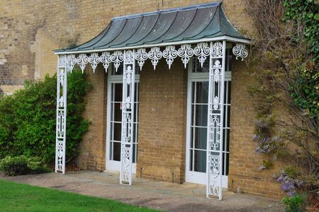 White cast iron Veranda photo
