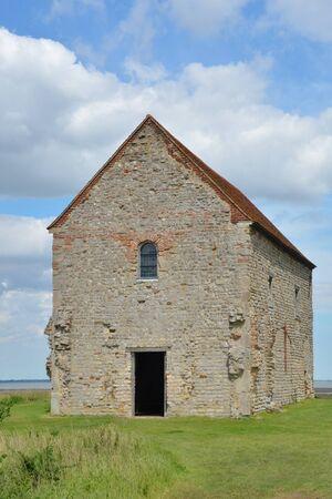 remote ancient stone Church photo