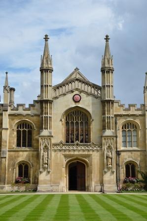 devanture: Fa�ade de Corpus Christie Cambridge