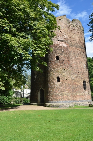 Cow Tower artillery block Norwich Norfolk