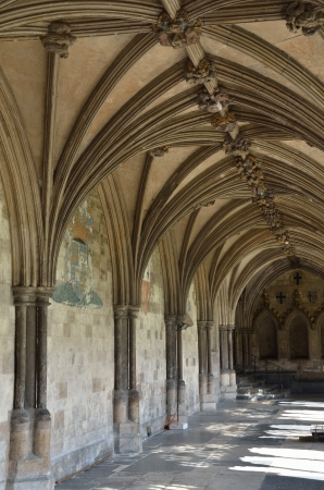 Cloisters at Norwich Cathedral