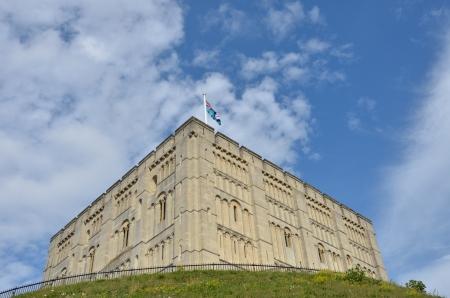 norman castle: Norwich Castle Norfolk