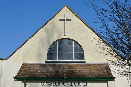 congregational: Roof of congregational church Stock Photo