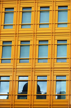 Modern yellow Building and windows Stock Photo - 19710730