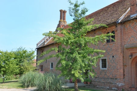 tudor: Tudor brick House Editorial