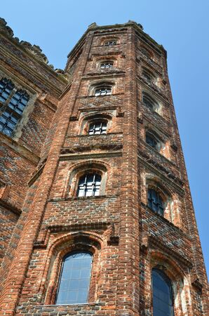 tudor: Tudor Tower at angle Editorial