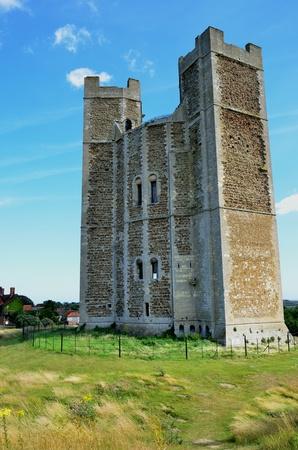 norman castle: Large norman castle