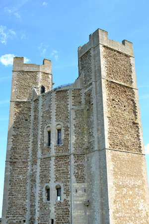 norman castle: Close view of norman keep Editorial