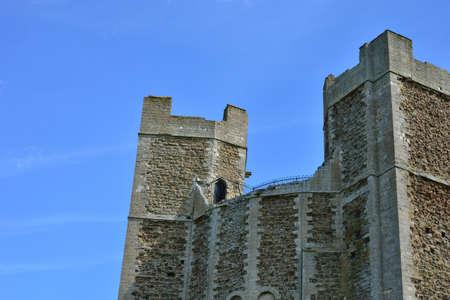 norman castle: Top of Norman castle