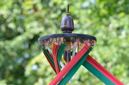 maypole: Maypole detail Stock Photo