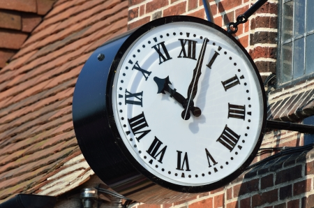 External clock photo