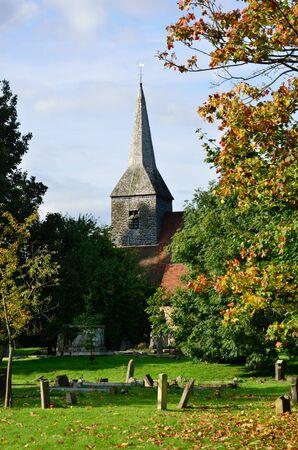 churchyard: English Churchyard in Portrait aspect