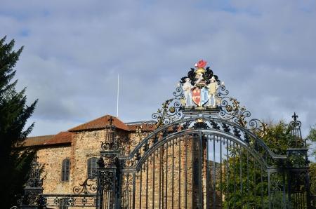 Gates at Colchester Castle Park