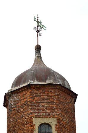 tudor: tudor tower with lead roof