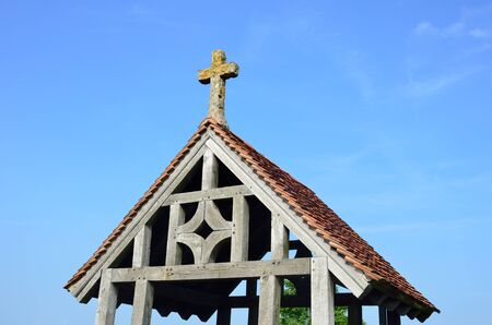 Lych gate with cross photo