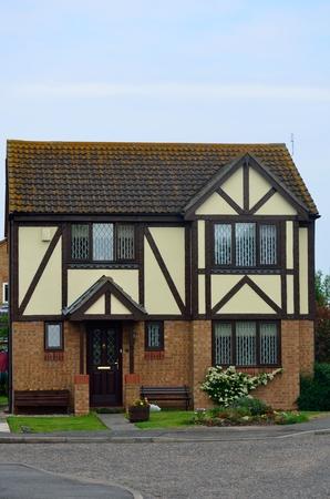 English Mock Tudor House photo