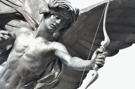 eros: Detail of Eros Statue