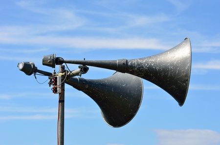 Outdoor loud speakers photo