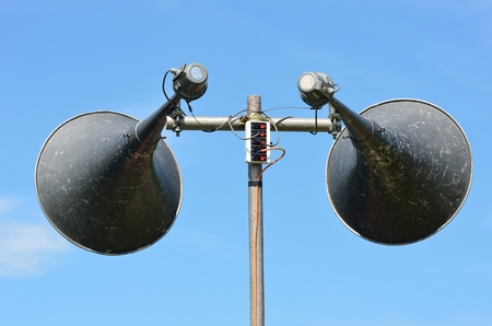 Pair of loudspeakers photo
