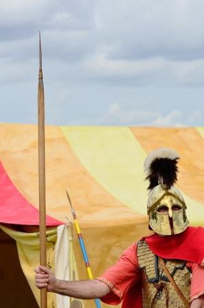 sentry: Roman Sentry on guard