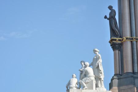 Sculpture detail at albert memorial photo