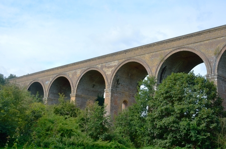 chappel: Chappel viaduct colne valley Stock Photo