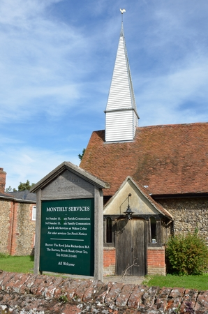 chappel: CHAPPEL ESSEX UK   Traditional village church 31 Aug 2014