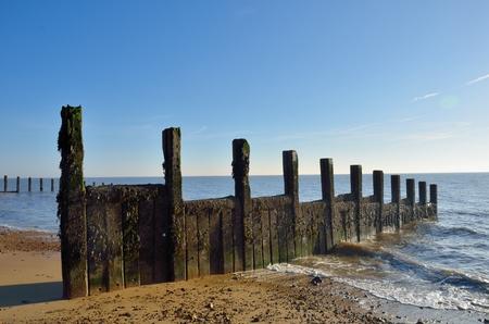 groyne: Groyne stretching into sea