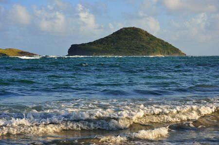carribean: Small Carribean island Stock Photo