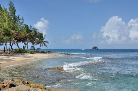 st lucia: Gros Islet in st lucia