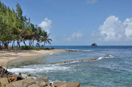 st lucia: st lucia gros islet in north