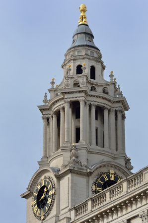 st pauls: Clock Tower St Pauls Cathedral