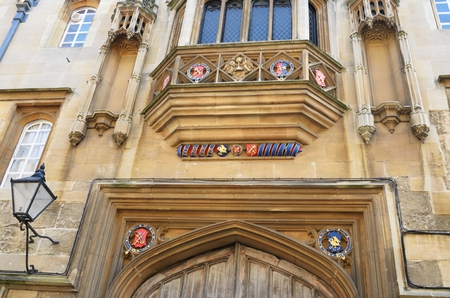 imposing: Imposing college entrance